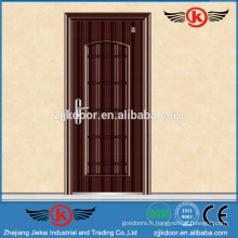 JK-F9018 Acier ignifuge Porte de sécurité Porte anti-incendie en bois
