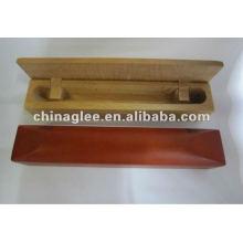 caja de la pluma de madera exclusivo