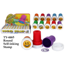 Hot Funny Smile Runde Selbst-Inking Stempel Spielzeug