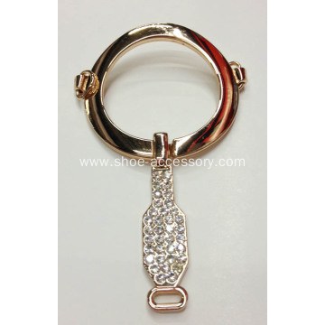 Fashion Alloy Rhinestone Sandal Chain