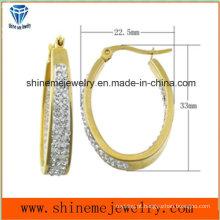 Aço inoxidável Moda Jóias de alta qualidade Earring Ear Stud Ers6938