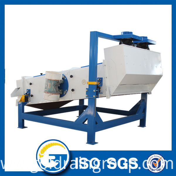 High efficiency vibrating screen