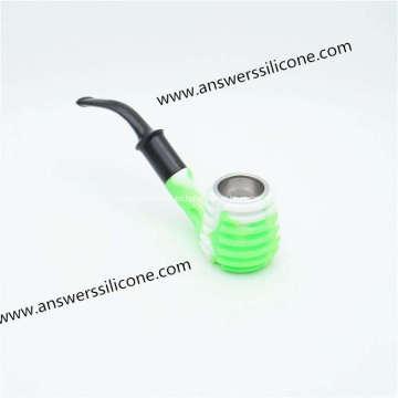 Mini protector de funda de soporte de cigarrillo de goma de silicona suave
