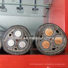 XLPE изолированный медный алюминиевый проводник XLPE огнестойкий кабель Цена
