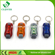 CE aprovado promoção dom 3 LED lanterna tocha de plástico mini