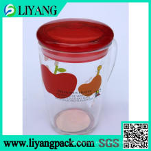 Plástico transparente, película de transferencia de calor para taza de plástico