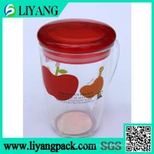 Plastique transparent, film de transfert de chaleur pour la tasse en plastique