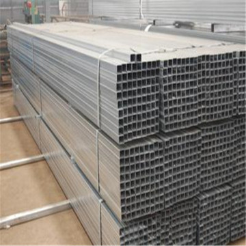MS Square Steel Pipe / Sections creuses