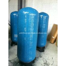 Cilindro de fibra de vidrio FRP para el tratamiento del suavizador de agua