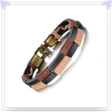 Jewelry Fashion Stainless Steel Bracelet Leather Bracelet (LB366)