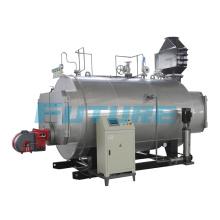Caldera de vapor de 500kg / H diesel horizontal para cámara de curado