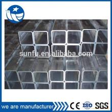 CE ISO sección rectangular de acero hueca