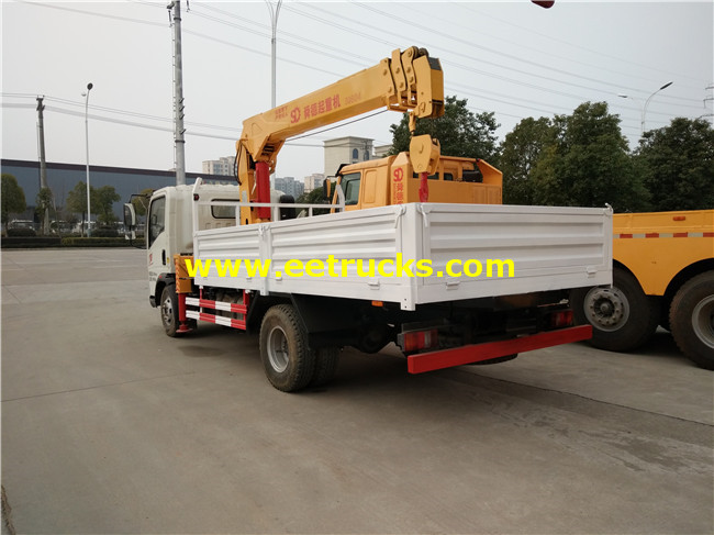 5ton Truck with Crane