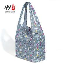 bolsa de compras reutilizable plegable impermeable