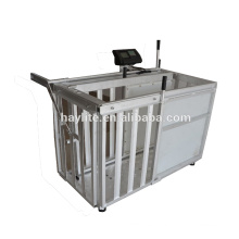 Galvanized OEM customized goat sheep animal weighing scale