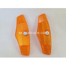 Yellow Spoke Reflector Cycle MTB