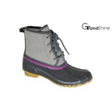 Mulheres ata acima do tornozelo baixo inverno Snow Boots
