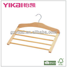 2013 High quanlity lotus wooden hanger for trousers/skirt