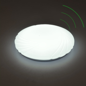 Intelligent 12w LED Oyster Lighting with Backup