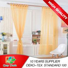 Rideau de fenêtre à voile en vrac simple et moderne, avec boucles, onglet prêt à l'emploi Chemins de voile haut de gamme