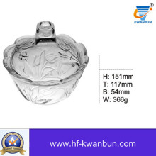 High Quality Glass Sweetmeat Bowl for Daily-Use Kb-Hn0369