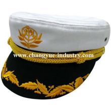 Wholesale cotton custom uniform sailor captain cap hat