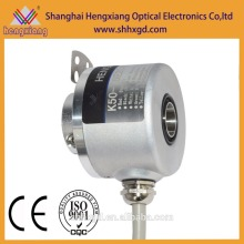 hengxiang through hole 12mm K50 Rotary Encoder Hollow Shaft Digital Output 3 signal encoder