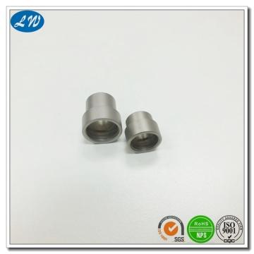 CNC girando peças de tampas de caneta de bola de aço inoxidável