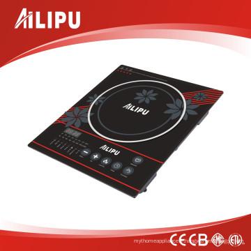 Ailipu Poêle électrique à brûleur simple avec plaque de cuisson à induction