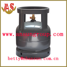 Cilindro de gás de aço 6KGB