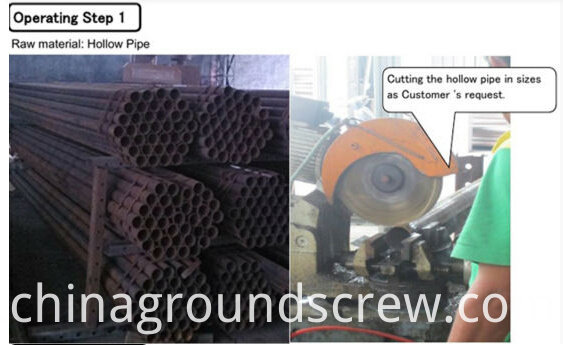 GROUND SCREW PIPE