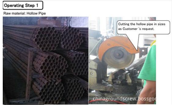 GROUND SCREW PIPE