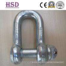 E. Grillete DIN galvanizado DIN82101