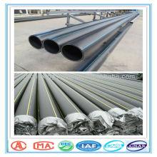abastecimiento de agua de PE y tubo de desagüe, tubería de agua de polietileno