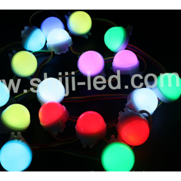 30mm 3leds RGB DMX LED Dot Matrix Display Digital pixel DMX Stage Lighting for bar stage DJ / Party