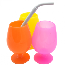 Hot sales Regular Size Silicone Reusable Drinking Straw
