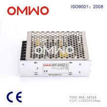 Wxe-50ned-a Fuente de alimentación conmutada AC / DC 50W 5V 12V para LED Driver