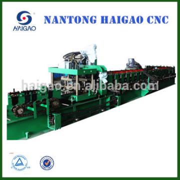 El nuevo CNC de alta velocidad cortó el rodillo de acero de C / Z que forma la máquina