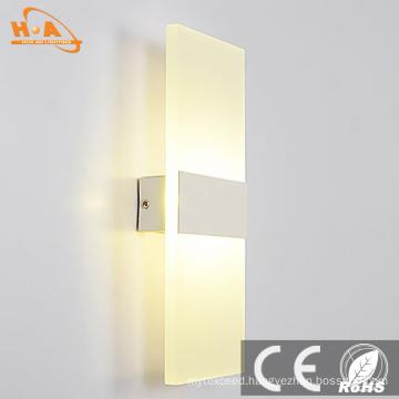 Fancy Acrylic LED Beside Wall Mounted Light LED Wall Lamp