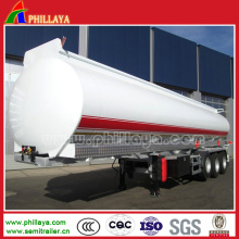 Stainless Steel Fuel Tanker Trailer Dimensions Opptional