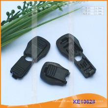 Forme el extremo plástico de la cuerda para las prendas KE1062 #