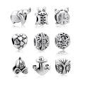 Atacado 925 Sterling Silver European Beads Jewelry