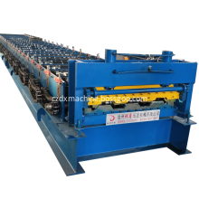 High precision customized thickness floor deck machine