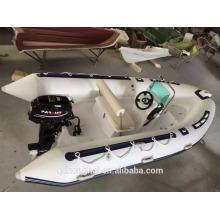 Надувная лодка RIB470 с жестким полом RIB470 Китай лодка с ce