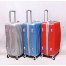 2014 new stock design fashion ABS luggage