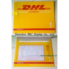 Enveloppe de papier Express, sacs de dossier express pour DHL, UPS, FedEx avec SGS (B & C-J002)