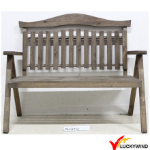 Country Style Antique Wooden Outdoor Gartenstuhl
