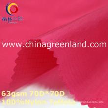 Tela de tela tejida de nylon tejida para textil de camisa (GLLML356)