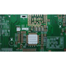 Green FR4 1.6MM Double Sided PCB Power Board with lead -fre