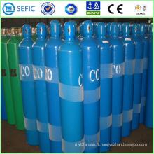 Cylindre industriel sans gaz de gaz de monoxyde de carbone de l'acier 50L (EN ISO9809)